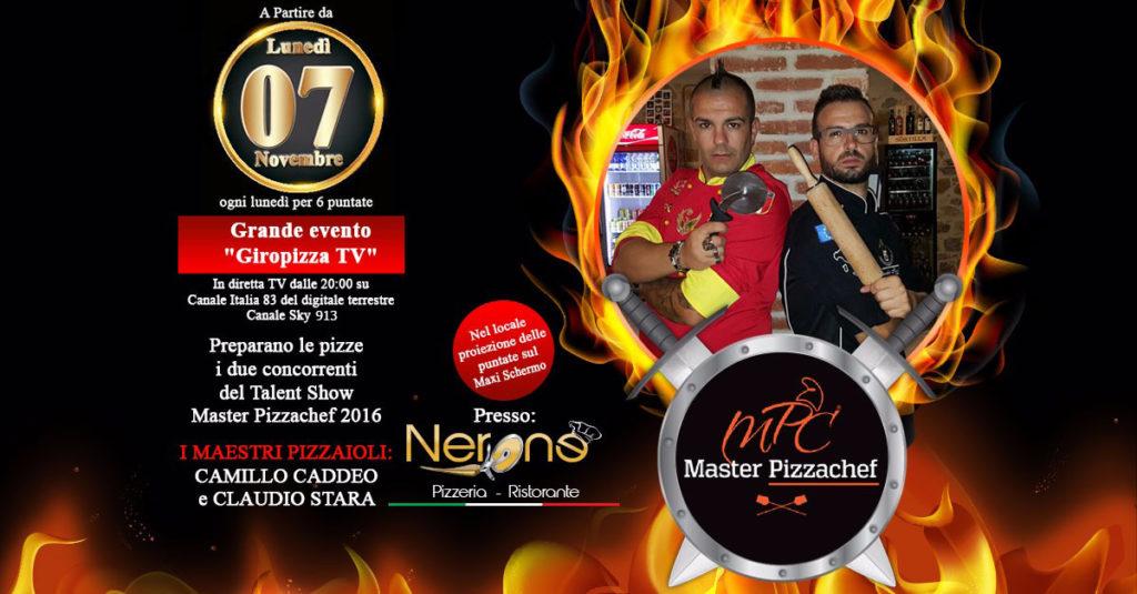 GiroPizza TV 7 novembre