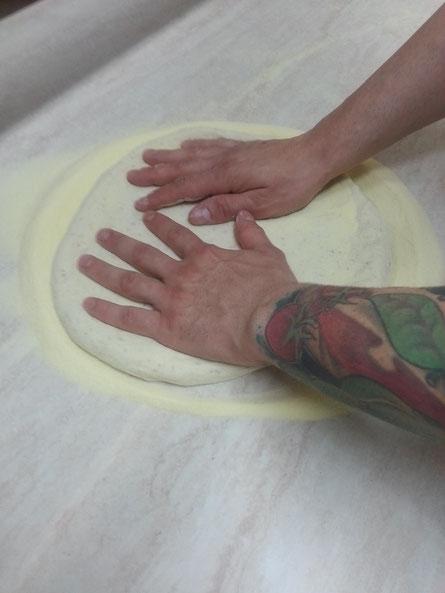 le mani di Claudio Nerone Stara